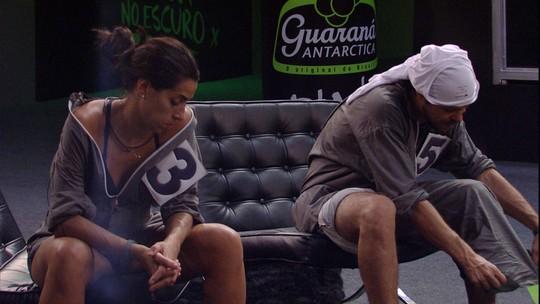 Juliana desiste da Prova do Líder e Renan e Tamiel são os últimos