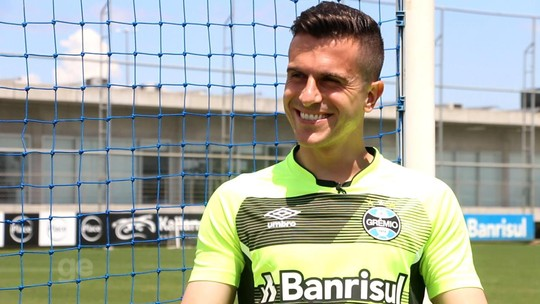 Fe-no-me-nal! Grohe nutre sonho de ver defesa se tornar símbolo da Libertadores