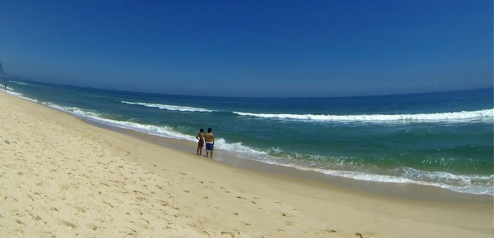 Praia da Reserva (Arquivo)  — Foto: Gabriel Barreira/G1