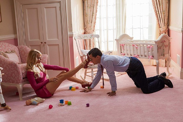 Margot Robbie e Leonardo DiCaprio em O Lobo de Wall Street (Foto: Divulgação)