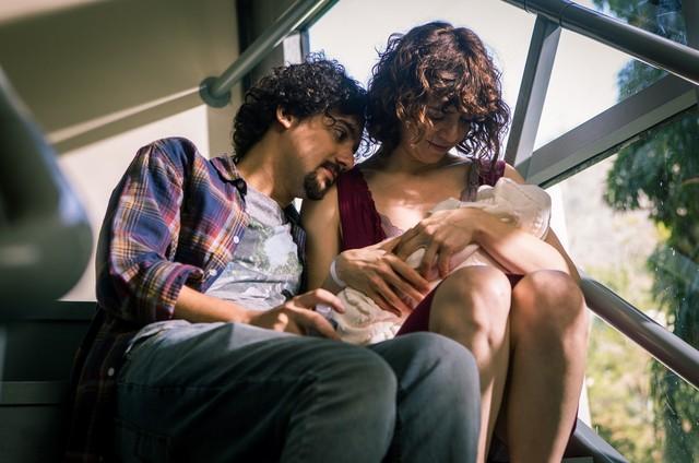 George Sauma e Renata Gaspar em 'Pais de primeira' (Foto: Fabiano Battaglin/Gshow)