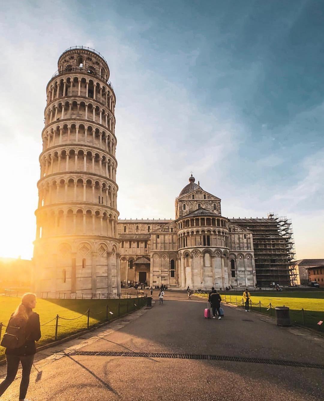 Torre de Pisa (Foto: Instagram/ Reprodução)