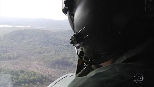 Em um mês, militares atuaram em 571 focos de incêndio na Amazônia