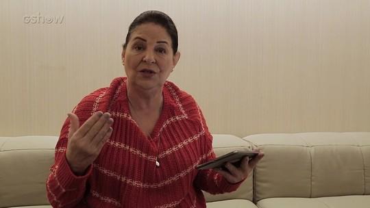 Cláudia Mello, a Zu, se diverte com comentários da web sobre a personagem
