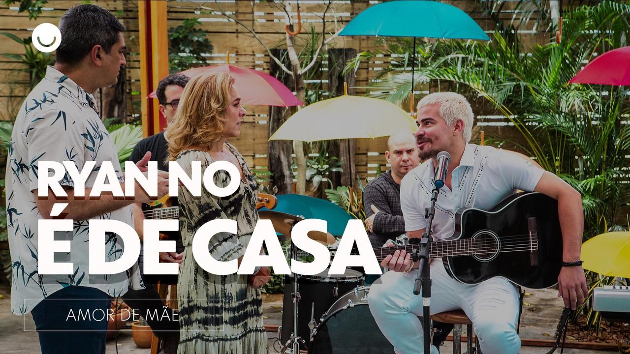 Cissa Guimarães e Zeca Camargo comentam a participação de Ryan no 'É de Casa'