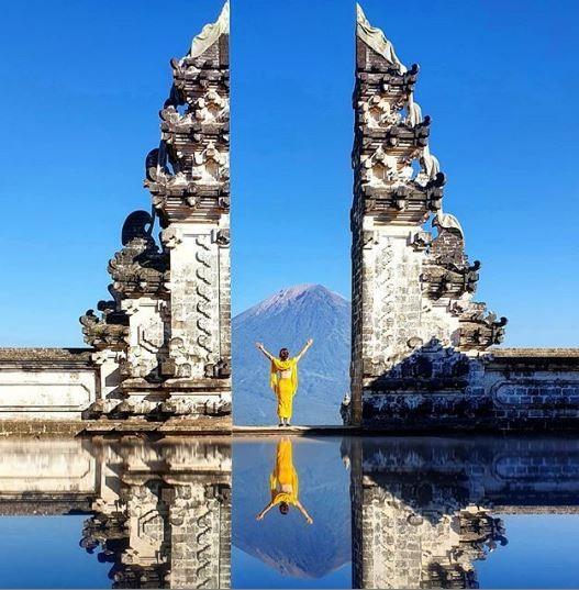 'Portões do Céu', em Bali, atrai turistas em busca de fotos falsas; entenda a estratégia dos guias locais