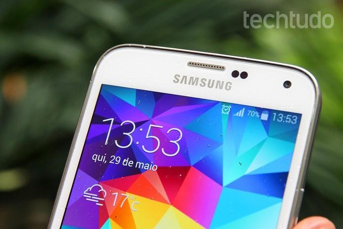 Samsung diz tchau para o KitKat e traz o Lollipop para o Galaxy S5 (Foto: TechTudo/Luciana Maline)
