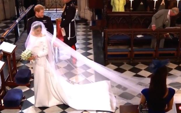 Casamento Meghan e Harry Foto Reproduo