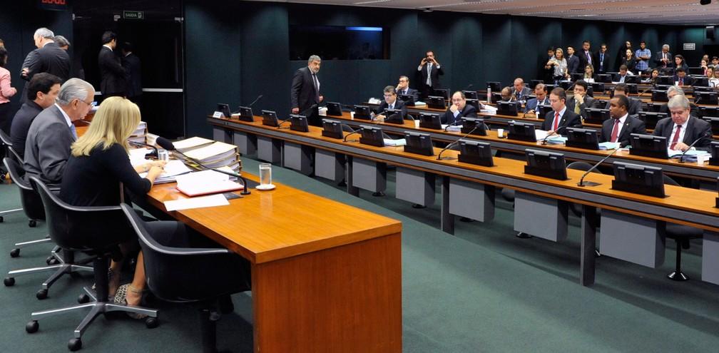 Plenário do Conselho de Ética da Câmara — Foto: Luis Macedo/Câmara dos Deputados