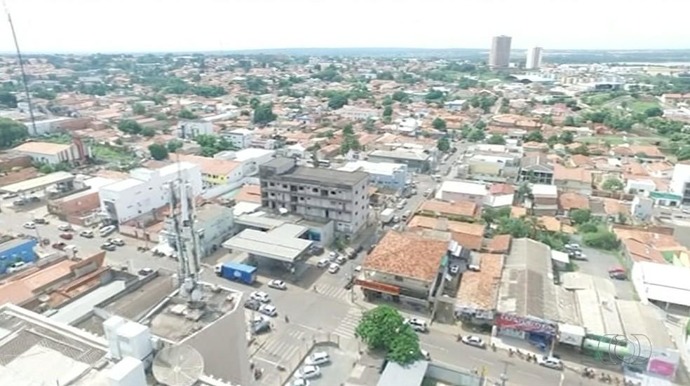 Vista geral de Araguaína (Foto: Reprodução/TV Anhanguera)