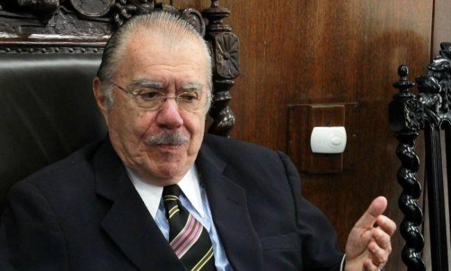 José Sarney, ex-presidente da república (Foto:  Ailton de Freitas / Agência O Globo)