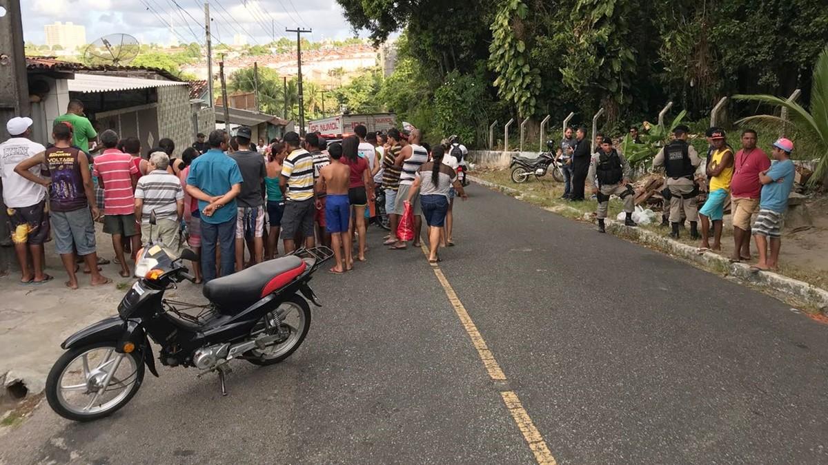 Homem é morto em frente de casa na ladeira do Rangel, em João Pessoa
