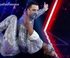 Felipe Titto e Brennda Martins na 'Dança dos famosos' | Reprodução