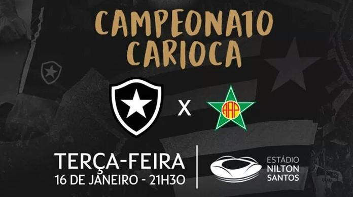 Botafogo x Portuguesa-RJ  saiba como garantir ingresso para estreia do  Carioca  4e4409bb5ad7f