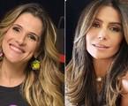 Ingrid Guimarães e Giovanna Antonelli | Divulgação e Instagram