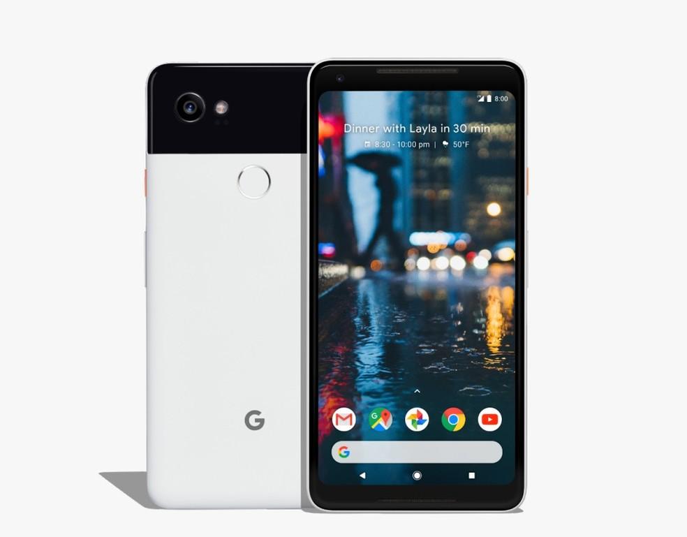 Google Pixel 2 possui resistência à água (Foto: Divulgação/Google)