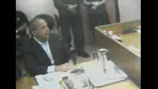 Ex-governador Sérgio Cabral presta depoimento ao juiz Marcelo Brêtas