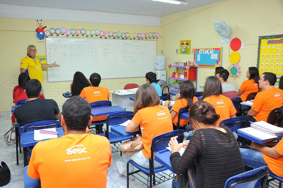 Sesc Arcoverde abre inscrições para curso pré-Enem e EJA