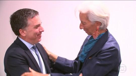Ministro da Economia da Argentina se reúne com diretora-gerente do FMI