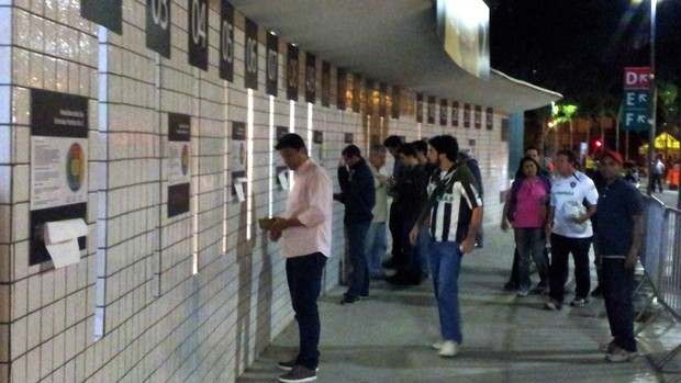 bilheteria maracanã, Botafogo x Internacional (Foto: Fred Huber)