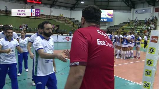 Minas vence Osasco e vai decidir título da Copa Brasil com o Praia Clube