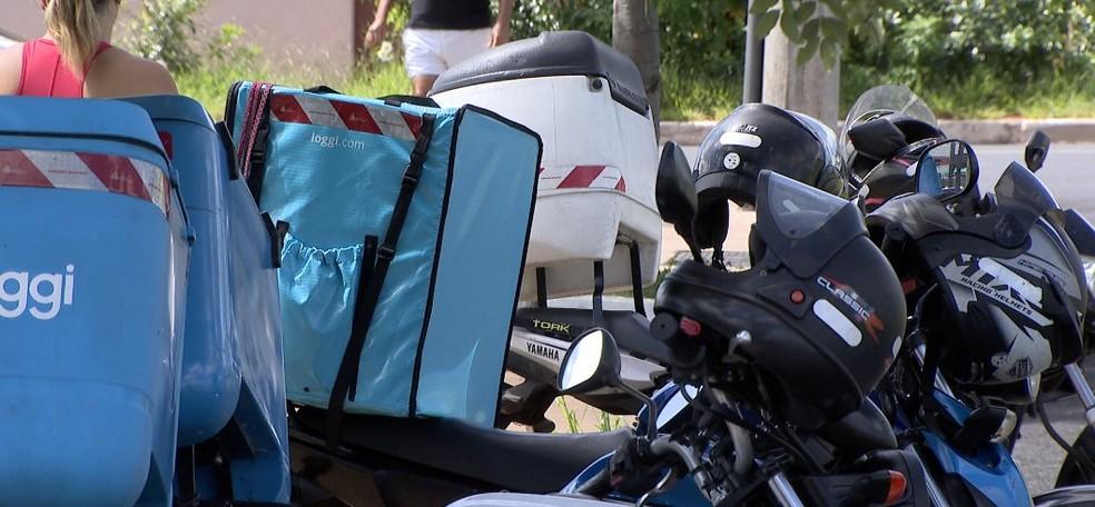 Empresas com serviço de delivery devem fornecer máscaras e álcool em gel para entregadores no RN — Foto: Reprodução/ TV Integração