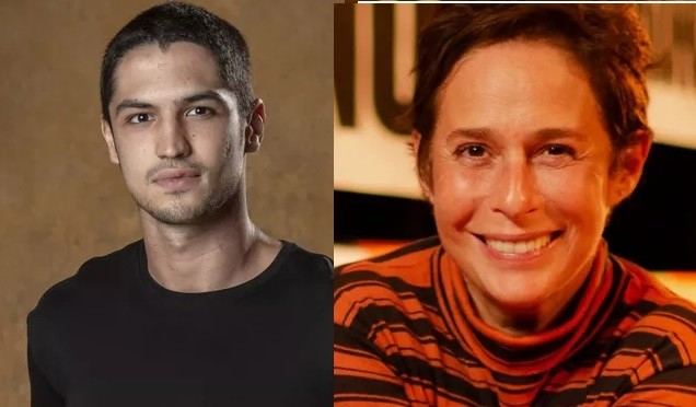 Gabriel Leone e Andréa Beltrão contracenarão em 'Um lugar ao sol' (Foto: Divulgação)