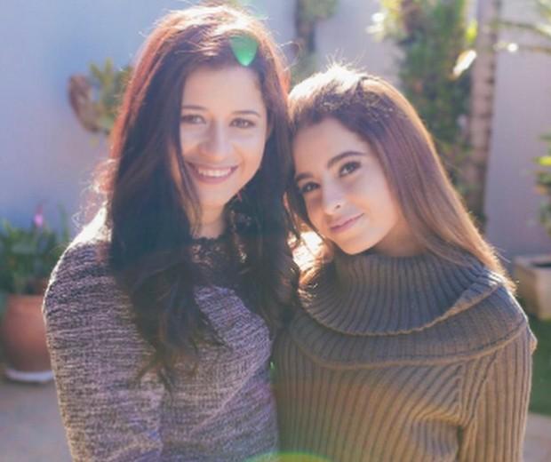 Aline Oliveira e a filha Kamily, de 18 anos (Foto: Reprodução/Instagram)