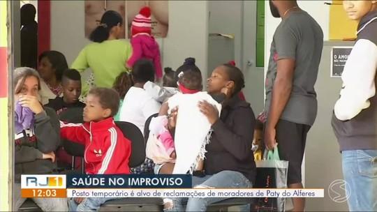 Moradores reclamam de obra inacabada em posto de saúde de Paty do Alferes