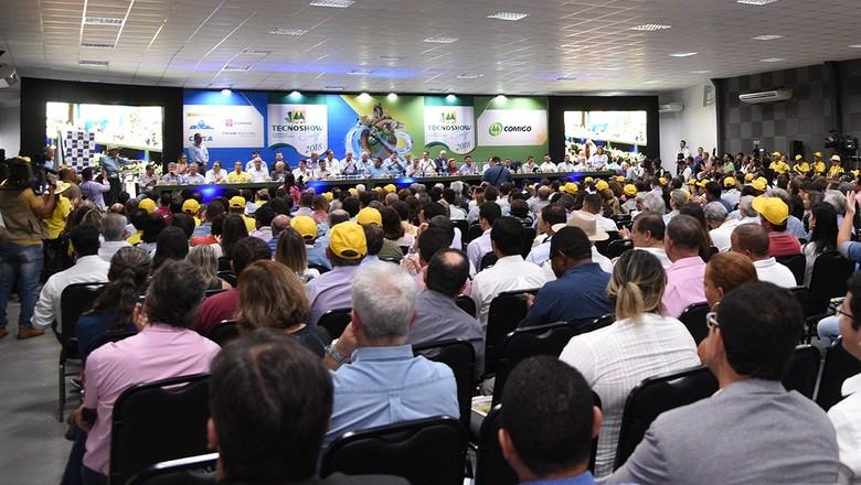 feiras-abertura-tecnoshow (Foto: Divulgação/Tecnoshow)