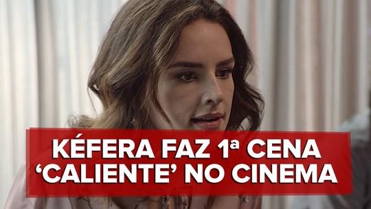 Kéfera diz que ficou 'tensa' para fazer 1ª cena de sexo da carreira e lembra 'cuidado' no set: 'Tudo coreografado'