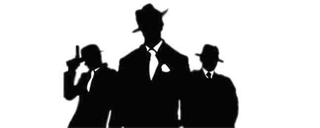 Máfia, mafiosos, pessoas, crime, silhueta (Foto: Pixabay)