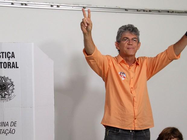 Ricardo Coutinho, candidato pelo PSB ao governo da Paraíba neste segundo turno (Foto: Francisco França / Jornal da Paraíba)