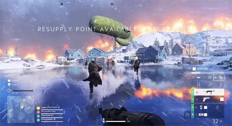 Battle Royale de Battlefield 5, Firestorm recebe primeiro gameplay