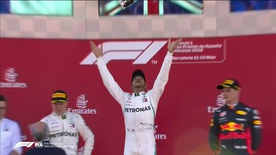 Hamilton vence com facilidade na Espanha e aumenta vantagem no campeonato