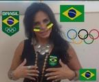 Reação com a vitória do Brasil no futebol, narrado por Galvão Bueno   Reprodução