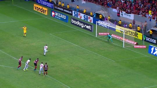 No meio de atacantes estrelados, Diego Alves e Lomba tentam roubar a cena no Flamengo x Inter