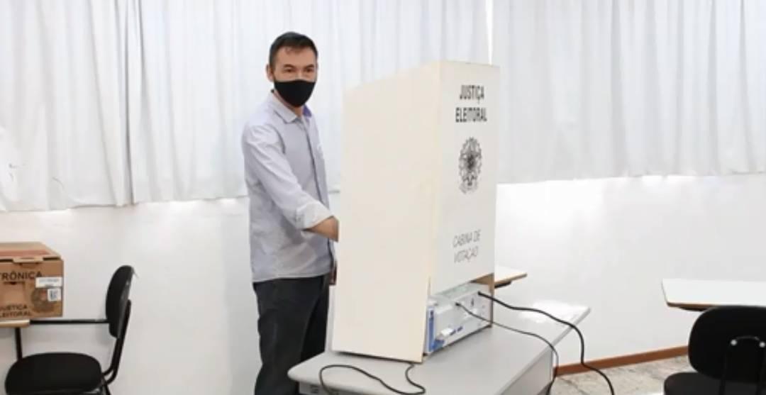 Candidato à Prefeitura de Londrina Delegado Águila (MDB)