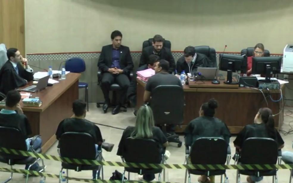 Marido e irmão de mulher enfrentaram júri por morte em Chapadão do Céu — Foto: Reprodução/Câmara de Vereadores de Chapadão do Céu