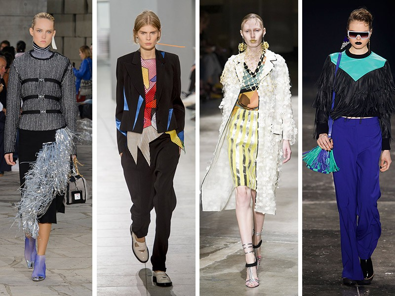 Loewe, Christopher Kane, Prada, Juliana Jabour (Foto: Imaxtree)
