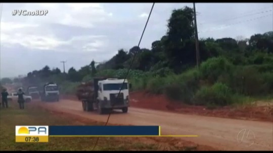 Ibama combate desmatamento no Pará  em operação conjunta com a Polícia Militar e a Força Nacional