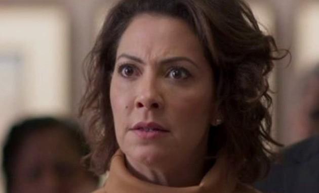 Na segunda-feira (16), Nana (Fabiula Nascimento) dará um ultimato em Mario (Lucio Mauro Filho) para que ele fique com ela (Foto: TV Globo)