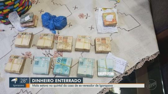 Mulher de ex-vereador é presa após apreensão de R$ 107 mil enterrados em Igarapava, SP