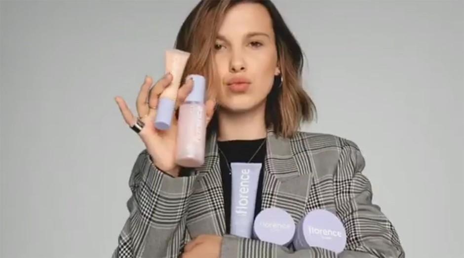 Atriz de Stranger Things lança marca de cosméticos veganos
