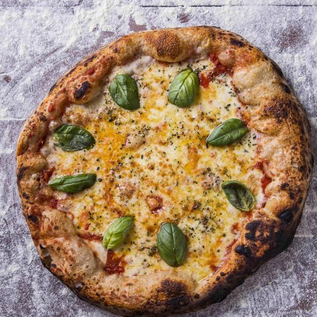 Pizza de margherita (Foto: reprodução)
