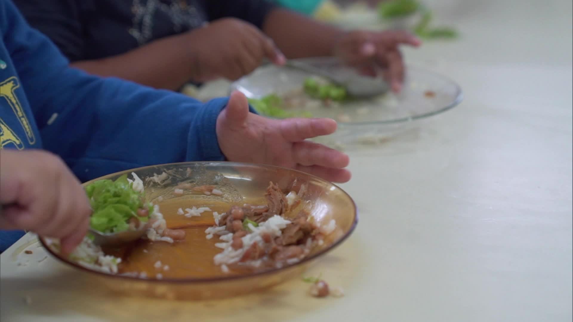 Quase metade das famílias com crianças menores de 5 anos passa por insegurança alimentar, diz estudo