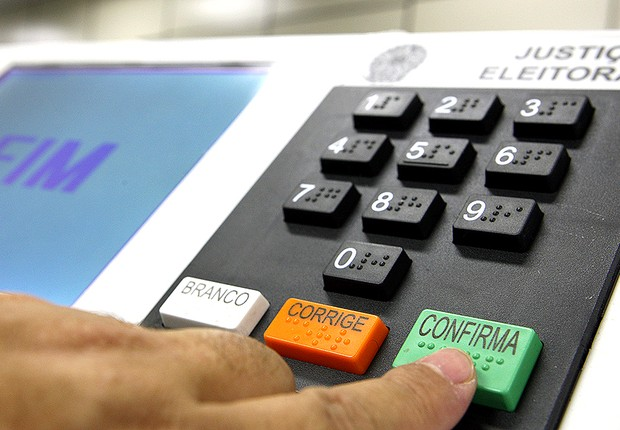 urna eletrônica, eleições (Foto: Nelson Jr./ ASICS/TSE)