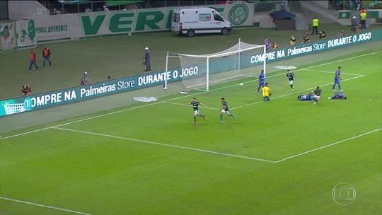 Palmeiras vence o Cruzeiro e assume a vice-liderança do Campeonato Brasileiro
