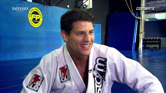 """Felipe """"Preguiça"""" fala do ano vitorioso no jiu-jitsu"""