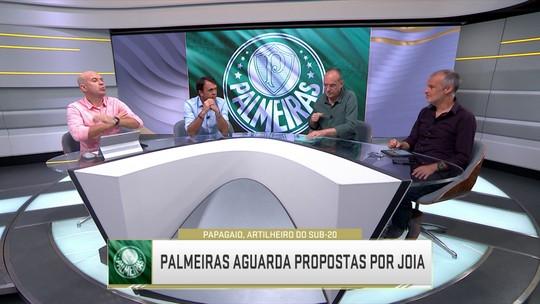 Seleção debate possível saída de Papagaio do Palmeiras